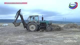 В Буйнакском районе идут работы по ликвидации несанкционированных свалок