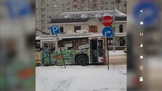 На 50 лет ВЛКСМ в Ставрополе встали троллейбусы