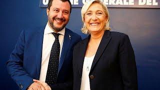 Дружба против ЕС: Сальвини и Ле Пен решили объединиться…