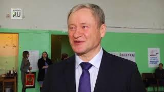 Алексей Кокорин принял участие в выборах президента, проголосовав в Шадринске
