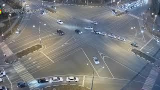 ДТП с откатившимся автомобилем.