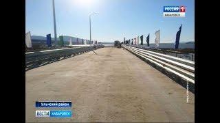Открытие моста через реку Кенжа