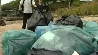 Вести-Хабаровск. Уборка берега Амура