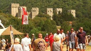 Средневековая Сербия принимает гостей