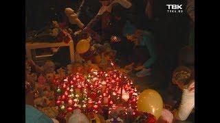 Акция памяти по погибшим при пожаре в Кемерово прошла в Красноярске