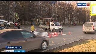 В Йошкар-Оле продолжается оптимизация дорожной сети