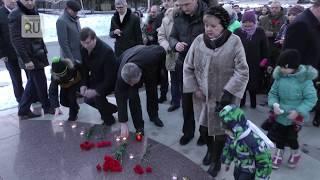 Без речей. Курганцы молча почтили память жертв кемеровской трагедии