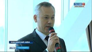 Андрей Травников поздравил ветеранов с праздником Победы