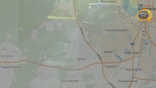 Погоня за пьяным водителем на трассе Ижевск - Ува.