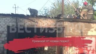 Два гаража сожгли неизвестные в Череповце