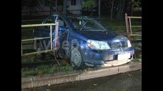 В серьезное ДТП попал водитель хабаровского такси с пассажирами. Mestoprotv