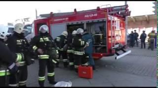 Посетители торгового центра в Ярославле стали участниками пожарных учений МЧС