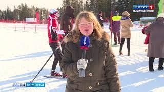 На стадионе в Малых Карелах в эти выходные состоялся областной Кубок Профсоюзов по лыжным гонкам