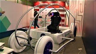 На выставке IT-форума югорчане смогут попробовать себя в роли виртуального гонщика