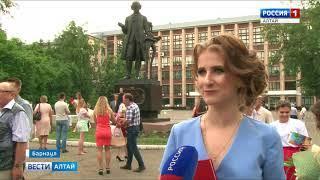 Ректор АлтГТУ встретился с самыми талантливыми выпускниками вуза