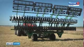 Алтайскую сельхозтехнику в эти дни представляют в Германии