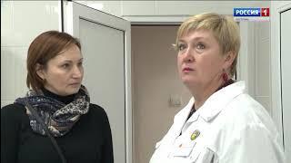 В детской областной больнице Костромы завершен ремонт эндоскопического кабинета