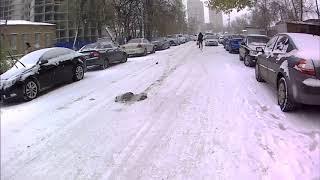 Аномальная погода в Ростове на Дону ДТП.Abnormal weather in Rostov-on-don.