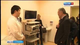 Новое отделение ресбольницы посетил глава региона Алексей Орлов