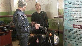 В Зауралье начались происшествия с участием юных водителей мопедов