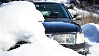 Снег в Ханты-Мансийске парализовал движение