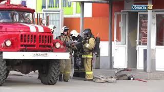 Проверки продолжаются: курганский торговый центр окружили пожарные машины