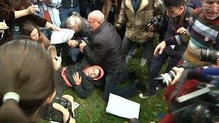 Муж отбивает жену у полиции. Санкт-Петербург