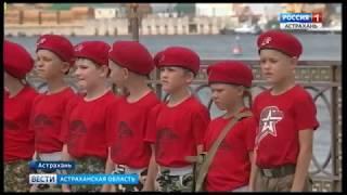 Астрахань готова к параду в честь Дня Военно-морского флота
