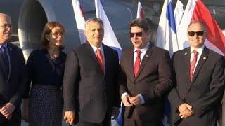 Виктор Орбан прибыл в Израиль