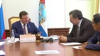 Дмитрий Азаров обсудил с заместителем руководителя ФАС развитие конкуренции в регионе