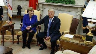 Политолог Дмитрий Орешкин о визите Меркель в Вашингтон