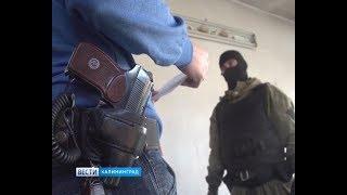 В Калининграде полицейские взяли штурмом дома наркоторговцев