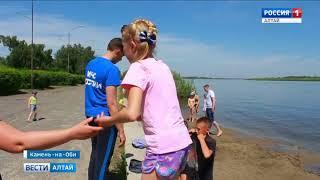 В Камне-на-Оби из-за высокого уровня воды в реке не открывают пляжный сезон