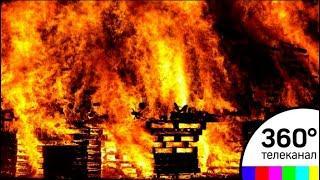 Сгорела вся деревня: очевидцы сняли на видео страшный пожар в Приморье