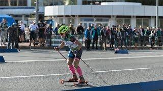 Спорт для любителей скорости: в Югре стартовали международные соревнования по лыжероллерам