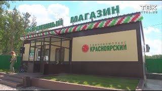 Первый магазин свинокомплекса «Красноярский»