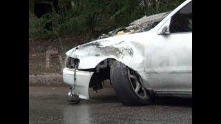 Виновник ДТП в Хабаровске сбежал с места аварии вместе с госномерами «Кресты». Mestoprotv