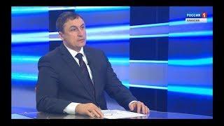 Максим Виноградов. Интервью дня. Россия - 24. Хакасия