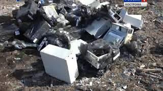 Бульдозерам по вещдокам: под Костромой уничтожили 70 единиц «железа» из нелегальных игровых клубов
