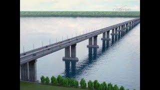 Появились первые эскизы нового моста через Волгу в районе села Климовка