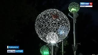 В Рубцовске установили дизайнерский уличный арт-объект