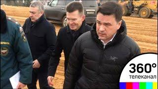 Губернатор провел совещание на «Ядрово» и проконтролировал ход работ на полигоне