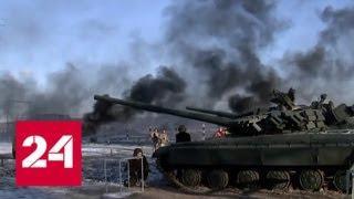 Наступление по всем фронтам: на Украине обыскивают храмы и стягивают к границе технику - Россия 24