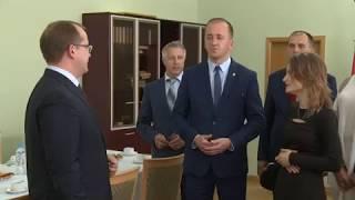 Визит польской делегации