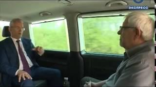 На телеканале «Экспресс» покажут большое интервью с губернатором