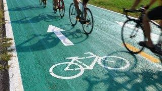 Югорским велосипедистам напомнили о ПДД