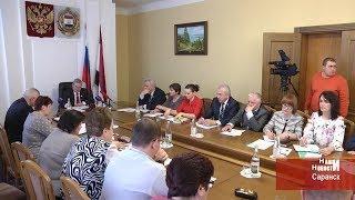 Заседание Комитета Государственного Собрания Мордовии