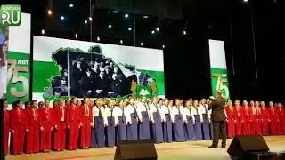 Максим Фадеев поделился в соцсети записью с празднования 75–летия Курганской области