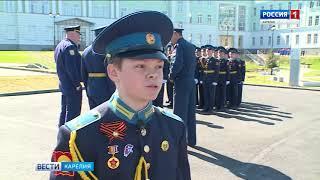 Курсанты Президентского кадетского училища готовятся к военному параду