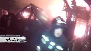 В Тевризском районе во время пожара погибли два человека